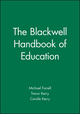 The Blackwell Handbook of Education (0631192816) cover image