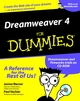 Dreamweaver 4 For Dummies (0764508016) cover image