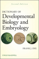 Dictionary of Developmental Biology and Embryology, 2nd Edition (1118076516) cover image