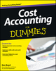 Cost Accounting For Dummies (1118453816) cover image