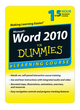 Word 2010 For Dummies eLearning Course (Basics) - Digital Only (30 Day) (1118459016) cover image
