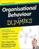 Organisational Behaviour For Dummies (1119977916) cover image
