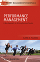 Performance Management: A New Approach for Driving Business Results (1405177616) cover image