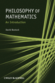 Philosophy of Mathematics: An Introduction (1405189916) cover image