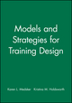 Models and Strategies for Training Design (1890289116) cover image