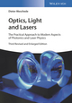 Optics, Light and Lasers: The Practical Approach to Modern Aspects of Photonics and Laser Physics, 3rd Edition (3527413316) cover image