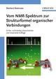 Vom NMR-Spektrum zur Strukturformel organischer Verbindungen, 3rd Edition (3527662316) cover image