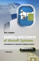 Stability and Control of Aircraft Systems: Introduction to Classical Feedback Control (0470018917) cover image