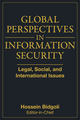 Global Perspectives In Information Security: Legal, Social, and International Issues (0470372117) cover image