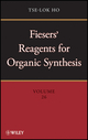 Fiesers' Reagents for Organic Synthesis, Volume 26 (0470587717) cover image