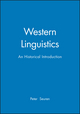 Western Linguistics: An Historical Introduction (0631208917) cover image