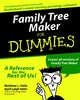 Family Tree Maker For Dummies (0764506617) cover image