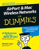 AirPort®and Mac®Wireless Networks For Dummies® (0764589717) cover image