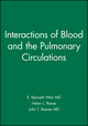 Interactions of Blood and the Pulmonary Circulations (0879937017) cover image