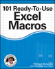 101 Ready-To-Use Excel Macros (1118281217) cover image