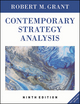 Contemporary Strategy Analysis: Text and Cases Edition, 9th Edition (1119126517) cover image