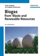 Biogas from Waste and Renewable Resources: An Introduction (3527621717) cover image