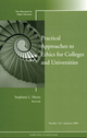 Practical Approaches to Ethics for Colleges and Universities: New Directions for Higher Education, Number 142 (0470416718) cover image