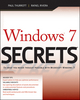 Windows 7 Secrets (0470508418) cover image