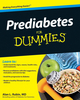 Prediabetes For Dummies (0470523018) cover image