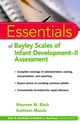 Essentials of Bayley Scales of Infant Development II Assessment (0471326518) cover image