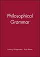 Philosophical Grammar (0631118918) cover image