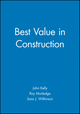 Best Value in Construction (0632056118) cover image