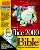 Microsoft Office 2000 Bible (0764532618) cover image