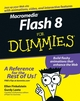 Macromedia Flash 8 For Dummies (0764596918) cover image