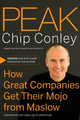 Peak: How Great Companies Get Their Mojo from Maslow (0787988618) cover image