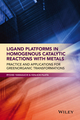 Ligand Platforms in Homogenous Catalytic Reactions with Metals: Practice and Applications for Green Organic Transformations (1118203518) cover image