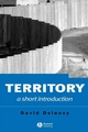 Territory: A Short Introduction (1405118318) cover image