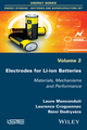 Electrodes for Li-ion Batteries: Materials, Mechanisms and Performance (1848217218) cover image