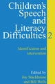 Children's Speech and Literacy Difficulties: Identification and Intervention, Book 2 (1861561318) cover image