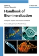 Handbook of Biomineralization, 3 Volume Set (3527316418) cover image