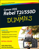 Canon EOS Rebel T2i / 550D For Dummies (0470768819) cover image