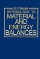 Introduction to Material and Energy Balances (0471041319) cover image