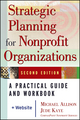 Strategic Planning for Nonprofit Organizations: A Practical Guide and Workbook, 2nd Edition (0471445819) cover image