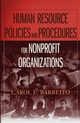 Human Resource Policies and Procedures for Nonprofit Organizations (0471788619) cover image