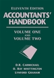 Accountants' Handbook, 2 Volume Set, 11th Edition (0471790419) cover image