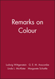 Remarks on Colour (0631116419) cover image