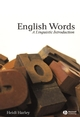 English Words: A Linguistic Introduction (0631230319) cover image