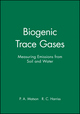 Biogenic Trace Gases: Measuring Emissions from Soil and Water (0632036419) cover image