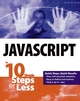 JavaScript in 10 Simple Steps or Less (0764542419) cover image