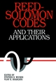 Reed-Solomon Codes and Their Applications (0780353919) cover image