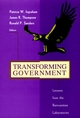 Transforming Government: Lessons from the Reinvention Laboratories (0787909319) cover image