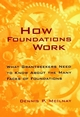 How Foundations Work: What Grantseekers Need to Know About the Many Faces of Foundations (0787940119) cover image