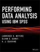Performing Data Analysis Using IBM SPSS (1118357019) cover image