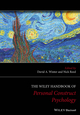 The Wiley Handbook of Personal Construct Psychology (1118508319) cover image