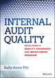 Internal Audit Quality: Developing a Quality Assurance and Improvement Program (1118715519) cover image